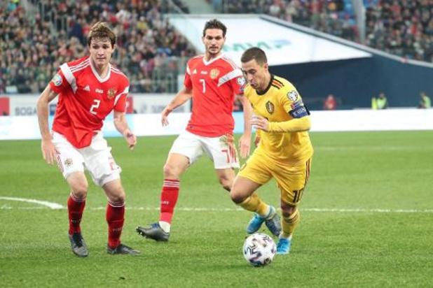 Les Diables Rouges débuteront l'Euro le samedi 12 juin contre la Russie
