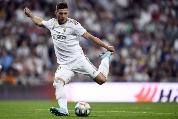Luka Jovic (Real Madrid) blessé au talon