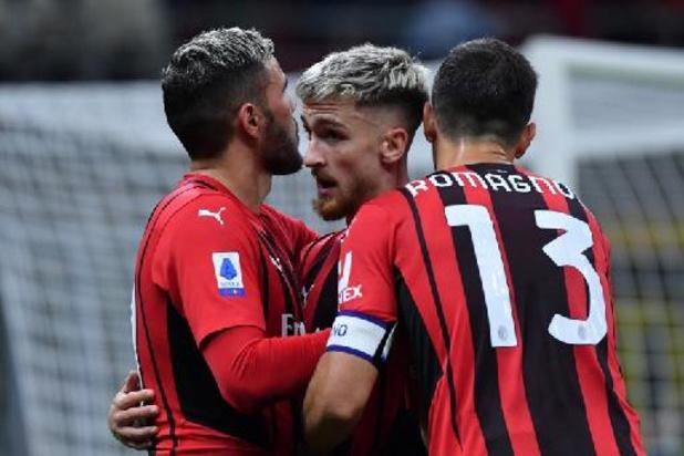 Les Belges à l'étranger - L'AC Milan et Alexis Saelemaekers, auteur d'un assist, s'imposent contre le promu vénitien