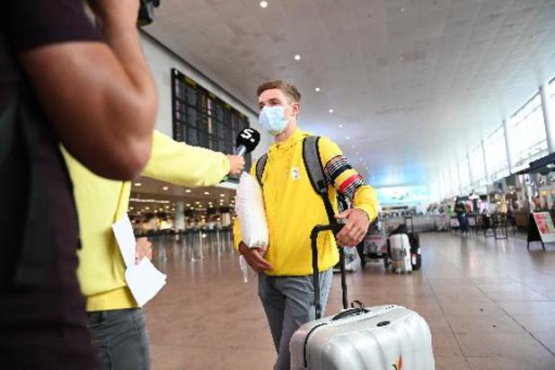 OS 2020 - Remco Evenepoel stapt met medaille-ambitie het vliegtuig naar Tokio op