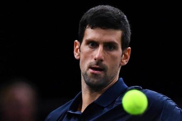 Novak Djokovic triomphe pour la cinquième fois à Paris-Bercy