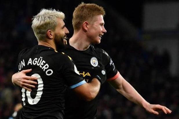 Les Belges à l'étranger - Deux assists pour De Bruyne, deux records pour Agüero: Man City cartonne à Aston Villa