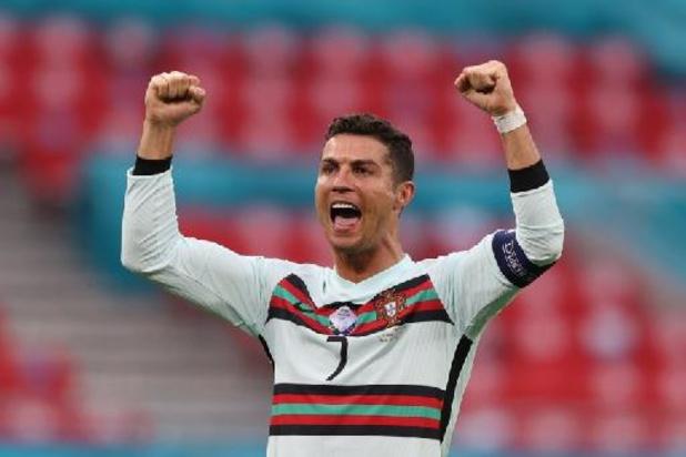 Ronaldo wordt topschutter aller tijden met 11 goals