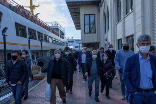 Turkse regering zegt dat ze de corona-epidemie de baas is