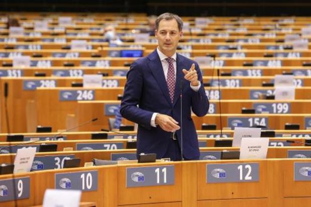 Gouvernement De Croo - De Croo appelle l'opposition à coopérer plutôt qu'à chercher le conflit