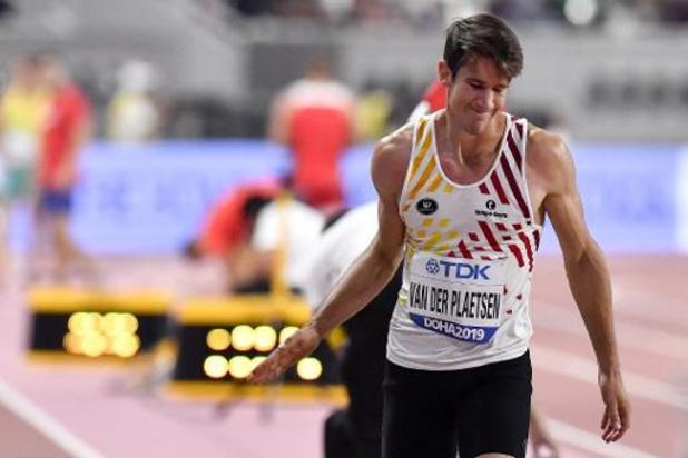 """Mondiaux d'athlétisme - Thomas Van der Plaetsen """"déçu"""" de sa première journée, """"espère montrer davantage jeudi"""""""