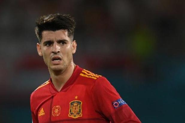 "EK - ""Nog een match die we laten glippen"", betreurt Morata"