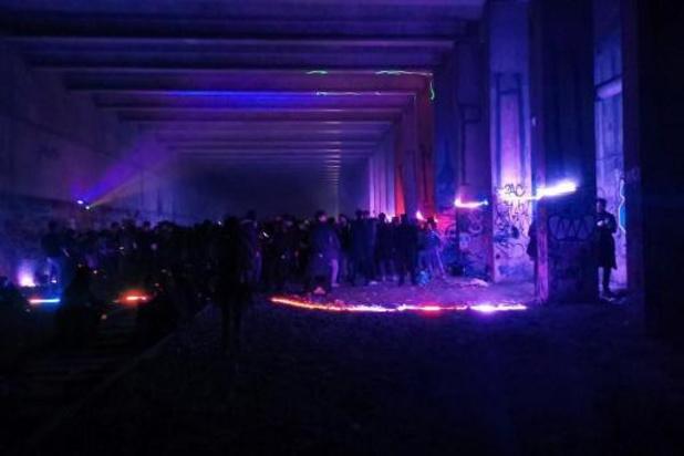 """France: une """"free-party"""" de 400 personnes interrompue par les gendarmes"""