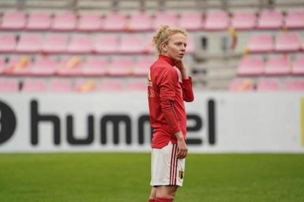 Red Flames : Charlotte Tison et Lenie Onzia titulaires face à l'Allemagne