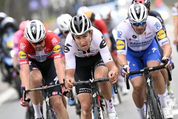 """Ronde van Vlaanderen - Tiesj Benoot had op meer gehoopt: """"Misschien is het tijd voor rust"""""""