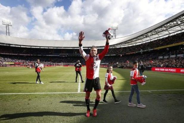 Eredivisie - Robin van Persie keert als spitsentrainer terug bij Feyenoord