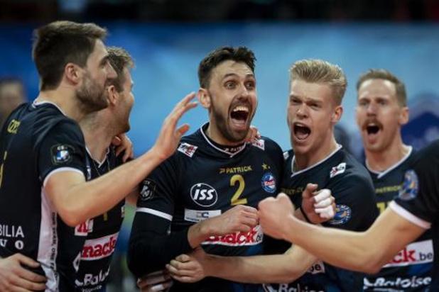 Beker van België volley (m) - Roeselare en Maaseik zetten stap richting finale