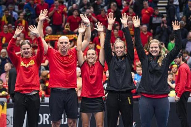 Belgische vrouwen spelen in Fed Cup-groepsfase van finaleweek tegen Australië en Wit-Rusland
