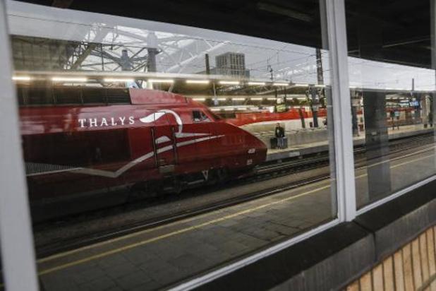 A partir du 9 juin, 20% des Thalys rouleront vers la France et les Pays-Bas