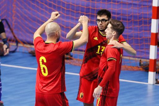 Kwal. EK futsal 2022 (m) - België wint vlot van Montenegro