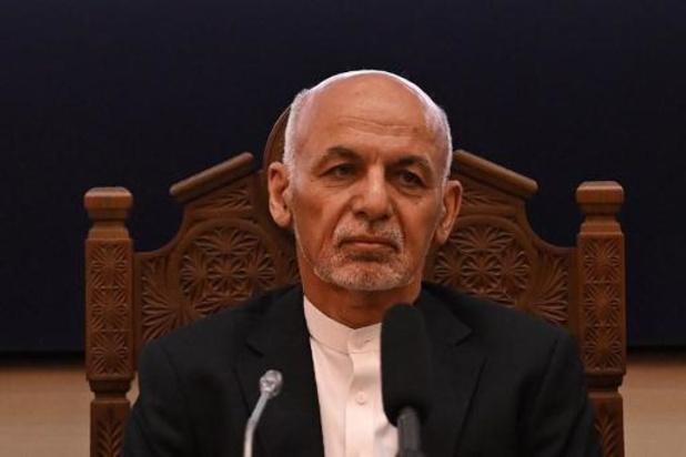"""Afghaanse president wijt verslechterende militaire situatie aan """"abrupte"""" terugtrekking VS"""