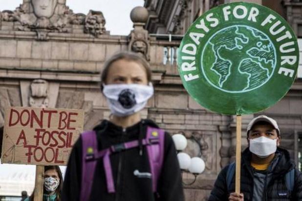 Des jeunes du monde entier rappellent l'urgence climatique aux décideurs