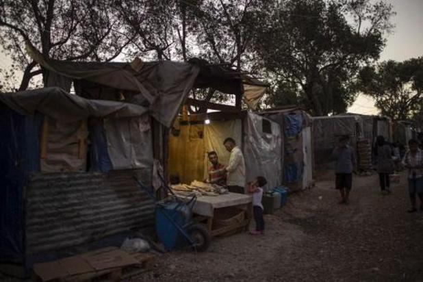Eerste besmetting in Grieks vluchtelingenkamp