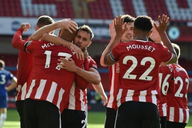 Premier League - Chelsea gaat zwaar de boot in bij Sheffield United