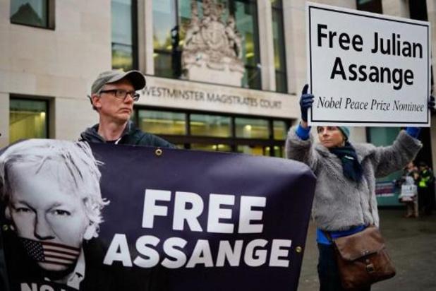 Advocaten vragen om borgtocht voor Assange