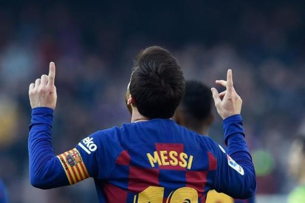 Primera Division - Messi s'offre un quadruplé contre Eibar