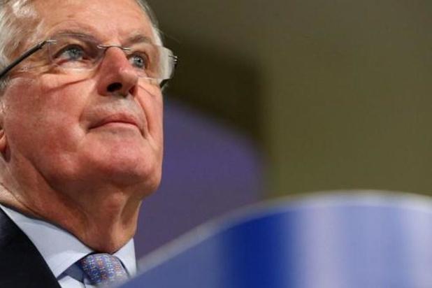 Europese hoofdonderhandelaar Barnier hersteld van virus en weer aan de slag met brexit
