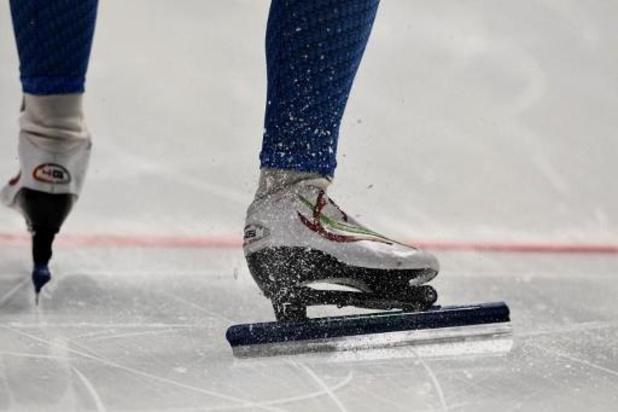 Jeux Olympiques de la jeunesse d'hiver - Fran Vanhoutte 22e du 500m de patinage de vitesse