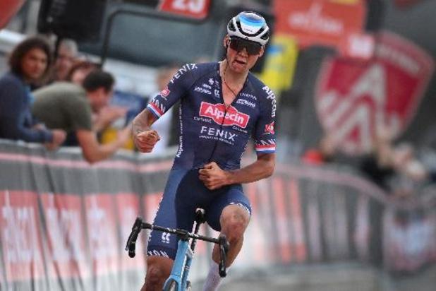 Mathieu van der Poel sera bien au départ dimanche à Anvers