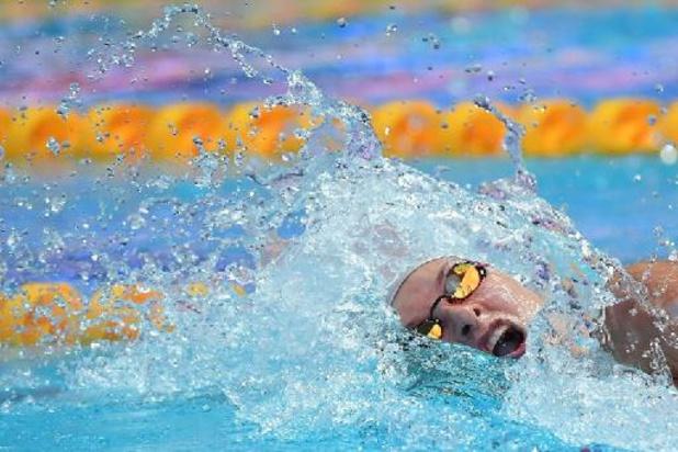 Deux nageurs russes écartés, suspendus provisoirement pour dopage par la FINA
