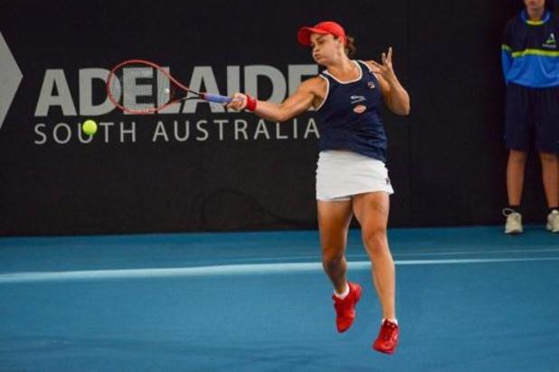 WTA Adélaïde - La N.1 mondiale Ashleigh Barty s'offre un premier titre dans son pays
