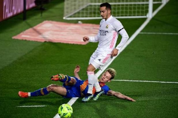Lucas Vazquez prolonge au Real jusqu'en 2024
