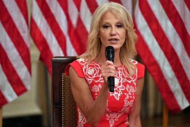 Trump-adviseur Conway verlaat het Witte Huis