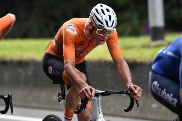 """Van der Poel zoekt niet naar excuses na 8e plek: """"Alaphilippe was gewoon allerbeste"""""""