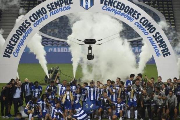 Le FC Porto de Sérgio Conceiçao sacré champion à huis clos, devant Benfica