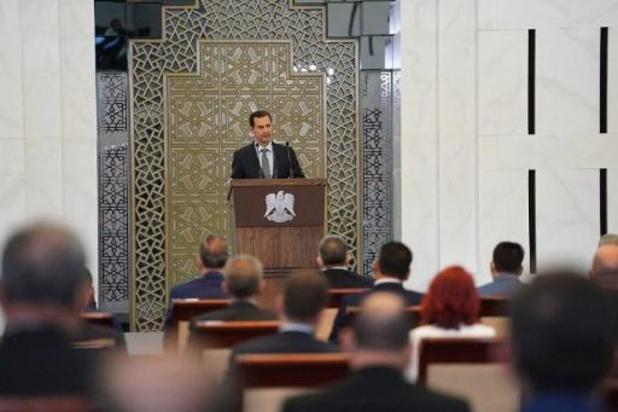 Syrische president moet toespraak onderbreken wegens bloeddrukdaling