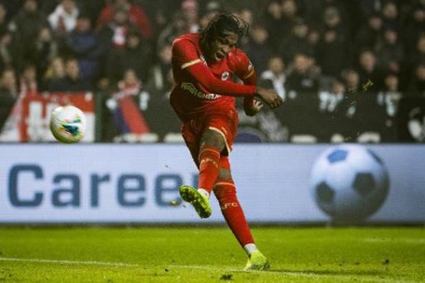 Croky Cup - L'Antwerp tenu en échec par Courtrai (1-1) en demi-finale aller