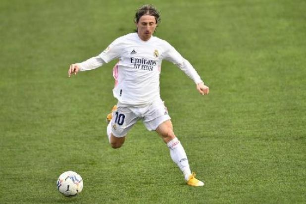 La Liga: Luka Modric blijft een jaar langer bij Real Madrid