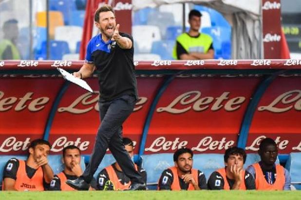 Serie A - Eusebio Di Francesco nouvel entraîneur de Vérone