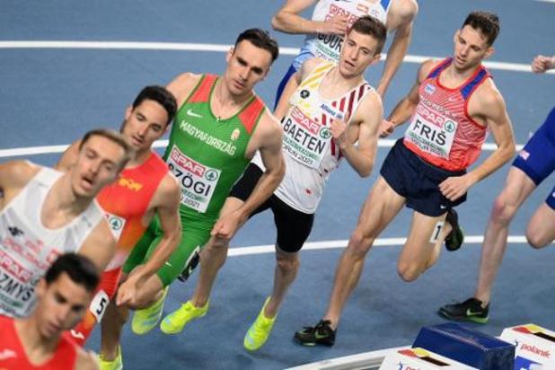 """Championnats d'Europe d'athlétisme en salle - Stijn Baeten peut """"diviser sa course en deux parties"""""""