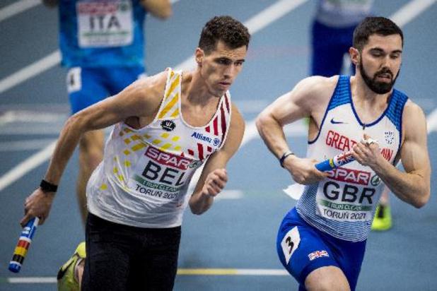 OS 2020 - Jonathan Borlée past voor individuele deelname in Tokio, aflossing wel nog een optie