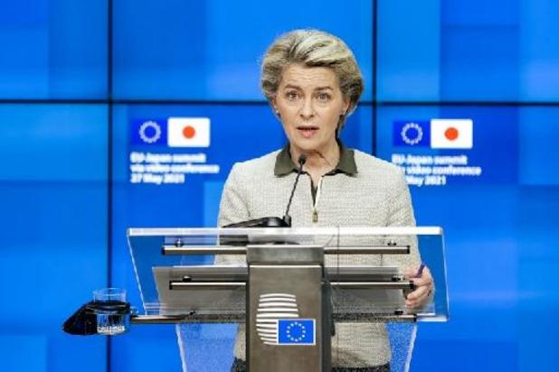 """L'UE et le Japon confiants dans l'organisation """"sûre et sécurisée"""" des Jeux de Tokyo"""