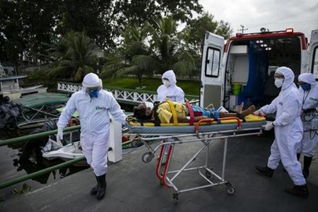 Brazilië ziet hoogste toename van besmettingen ooit
