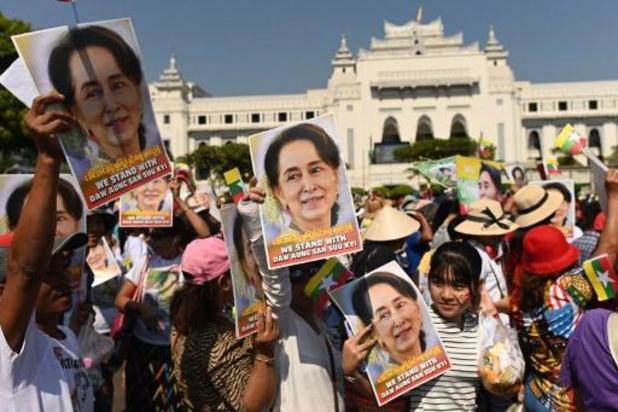 Aung San Suu Kyi est arrivée à la Cour internationale de justice à La Haye