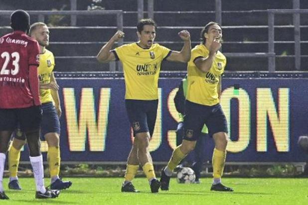 1B Pro League - Union zet koppositie in de verf met zege tegen RWDM in 'zwanzederby'