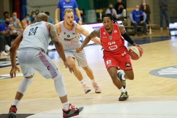 Euromillions Basket League - Anvers s'impose au Brussels en ouverture