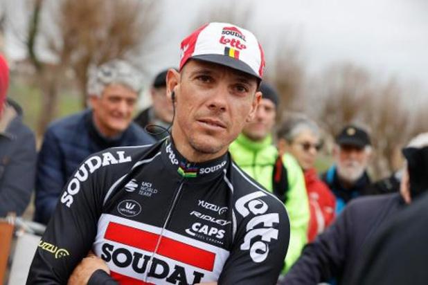 Quatre Belges, Greipel, Evans et Wiggins dans l'équipe idéale de Philippe Gilbert