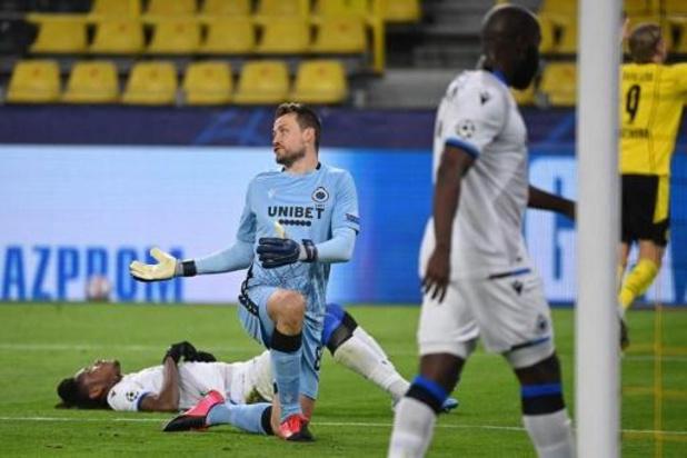 Champions League - Club Brugge kansloos onderuit in Dortmund