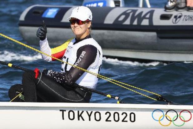 OS 2020 - Emma Plasschaert grijpt naast de medailles in de Laser Radial-klasse