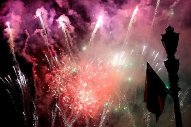 Nouvel An - Recours fédéral contre l'interdiction flamande des feux d'artifice