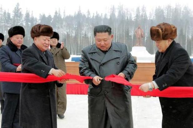 Corée du Nord: Kim inaugure la ville nouvelle de Samjiyon, près du Mont Paektu
